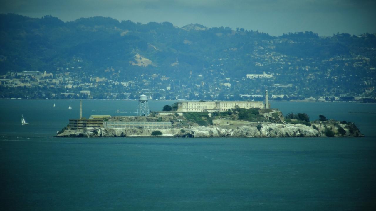 Alcatraz as Seen From the Bridge