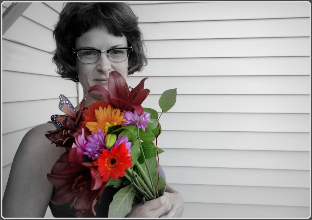 Flowers I got in the Morning from my Dear David