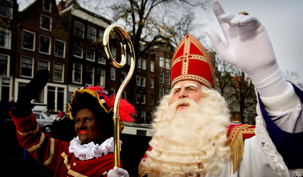 "Sinterklaas and ""Black Pete"""