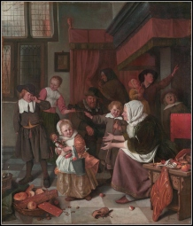 Jan Steen Offers a Special Insight to the Tradition Through this Painting (1665)