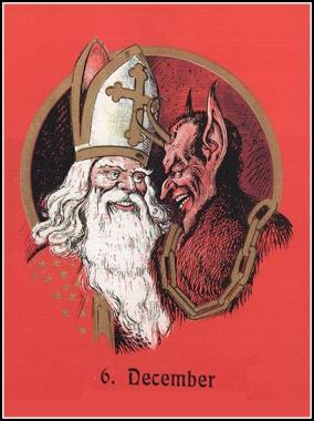 Sinterklaas and Wodan