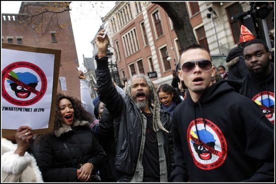 Demonstrations Against Zwarte Piet