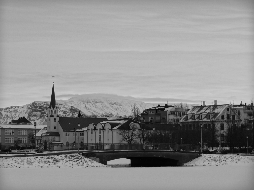 Reykjavik Lends Itself Well To Black-and-White Photos