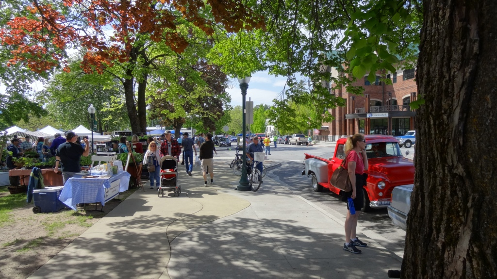 Sandpoint Farmer's Market– every Wednesday and Saturday.