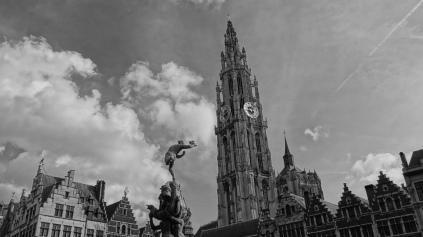 Market Square, Antwerp - BELGIUM
