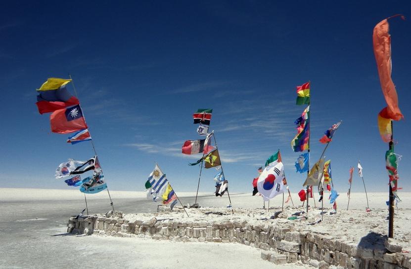 Flag Stop, Uyuni - BOLIVIA