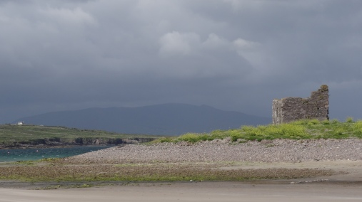 Old Ruin on Ballinskelligs Bay