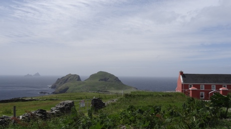 Puffin Island and Skellig Michael in the Background
