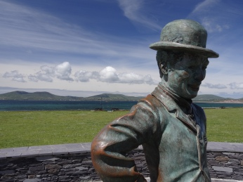 C. Chaplin Statue in Waterville