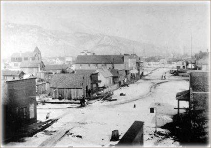 Donwtown Sandpoint circa 1900