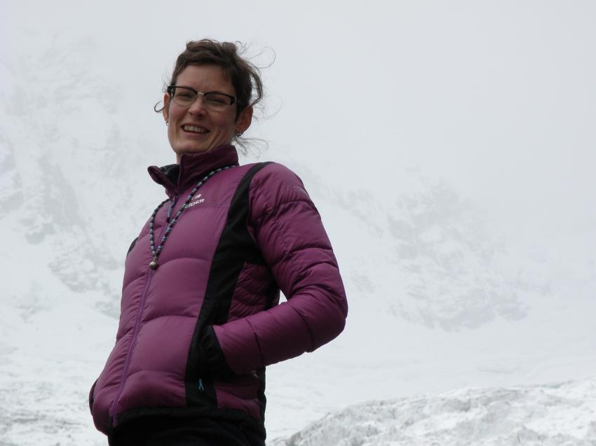 Some Glacier in the Peruvian Andes