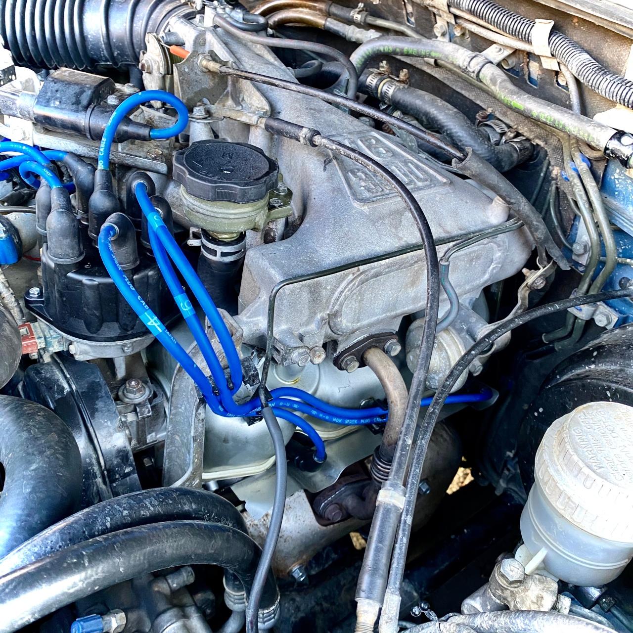 1991 Mitsubishi Montero Engine